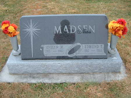 MADSEN, EVELYN M - Shelby County, Iowa | EVELYN M MADSEN
