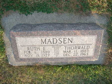 MADSEN, RUTH E - Shelby County, Iowa | RUTH E MADSEN