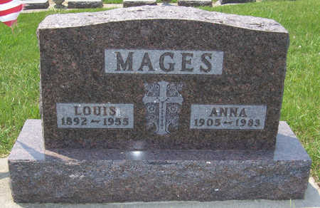 MAGES, ANNA - Shelby County, Iowa | ANNA MAGES