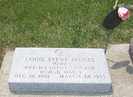 MAGES, LOUIS STEVE (MILITARY) - Shelby County, Iowa | LOUIS STEVE (MILITARY) MAGES
