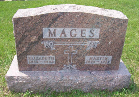 LAHR MAGES, ELIZABETH - Shelby County, Iowa | ELIZABETH LAHR MAGES