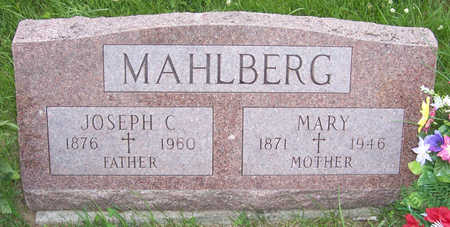 MAHLBERG, MARY - Shelby County, Iowa | MARY MAHLBERG