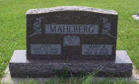 MAHLBERG, MARY K. - Shelby County, Iowa | MARY K. MAHLBERG