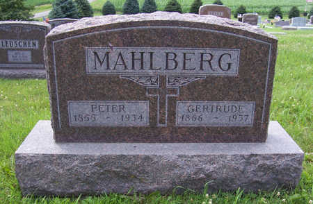 MAHLBERG, PETER - Shelby County, Iowa | PETER MAHLBERG