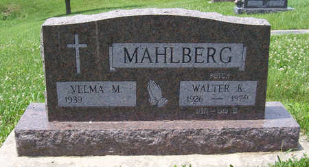 MUELL MAHLBERG, VELMA M. - Shelby County, Iowa | VELMA M. MUELL MAHLBERG