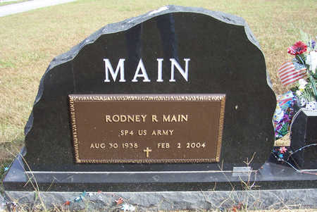 MAIN, RODNEY R. (MILITARY) - Shelby County, Iowa | RODNEY R. (MILITARY) MAIN