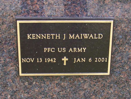 MAIWALD, KENNETH J. (MILITARY) - Shelby County, Iowa | KENNETH J. (MILITARY) MAIWALD