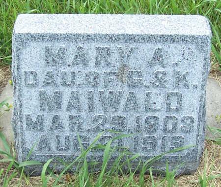 MAIWALD, MARY A. - Shelby County, Iowa | MARY A. MAIWALD