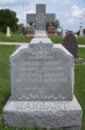 MANHART, CATHERINE - Shelby County, Iowa | CATHERINE MANHART