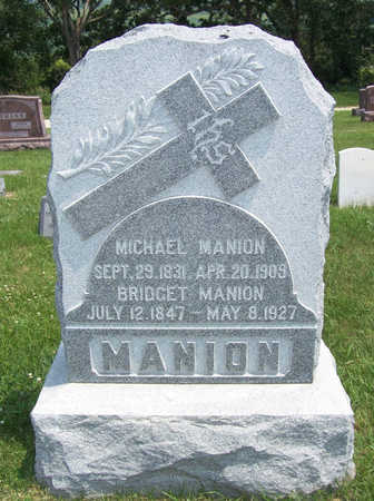 MANION, BRIDGET - Shelby County, Iowa | BRIDGET MANION