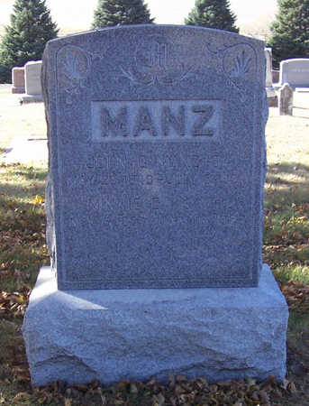 MANZ, MINNIE E. - Shelby County, Iowa | MINNIE E. MANZ