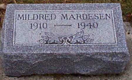 MARDESEN, MILDRED - Shelby County, Iowa | MILDRED MARDESEN