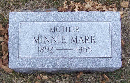 MARK, MINNIE (MOTHER) - Shelby County, Iowa | MINNIE (MOTHER) MARK