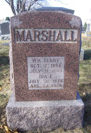 MARSHALL, IDA E. - Shelby County, Iowa | IDA E. MARSHALL