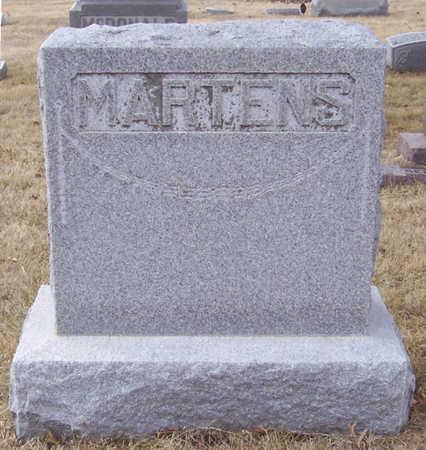 MARTENS, WILHELM & EMMA (LOT) - Shelby County, Iowa   WILHELM & EMMA (LOT) MARTENS
