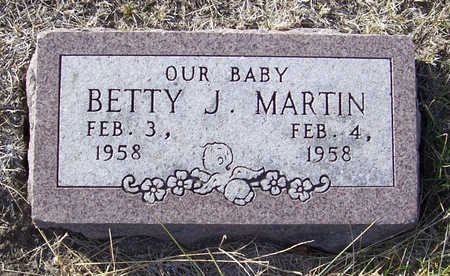 MARTIN, BETTY J. - Shelby County, Iowa | BETTY J. MARTIN