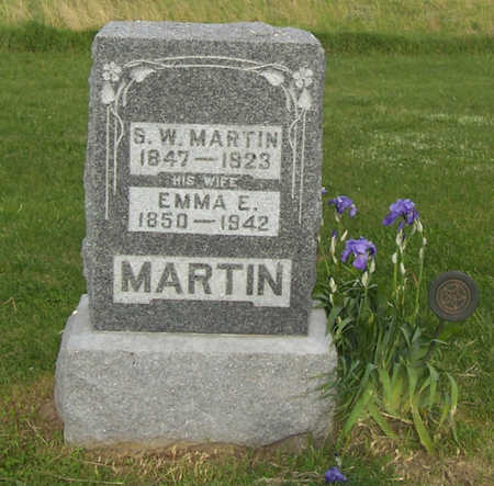 MARTIN, EMMA E. - Shelby County, Iowa | EMMA E. MARTIN