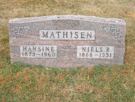 MATHISEN, HANSINE - Shelby County, Iowa | HANSINE MATHISEN