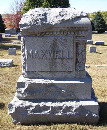 MAXWELL, BIRTHA (FRONT) - Shelby County, Iowa | BIRTHA (FRONT) MAXWELL