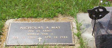 MAY, NICHOLAS A. (MILITARY) - Shelby County, Iowa | NICHOLAS A. (MILITARY) MAY