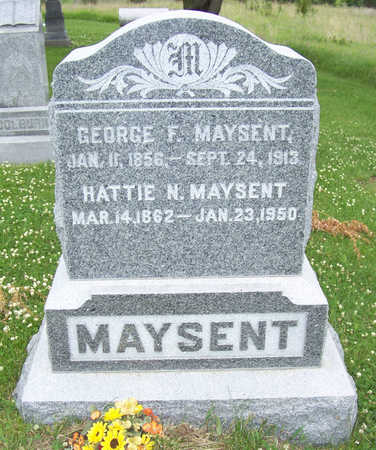 MAYSENT, GEORGE F. - Shelby County, Iowa | GEORGE F. MAYSENT