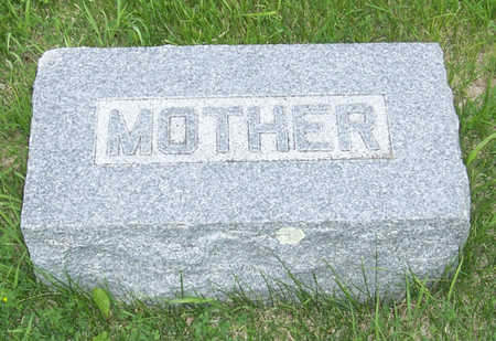 MCALLISTER, CATHERINE (MOTHER) - Shelby County, Iowa | CATHERINE (MOTHER) MCALLISTER