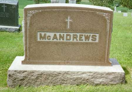 MCANDREWS, PATRICK - Shelby County, Iowa   PATRICK MCANDREWS
