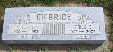 MCBRIDE, JAMES E. (BROTHER) - Shelby County, Iowa | JAMES E. (BROTHER) MCBRIDE