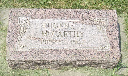 MCCARTHY, EUGENE T. - Shelby County, Iowa | EUGENE T. MCCARTHY
