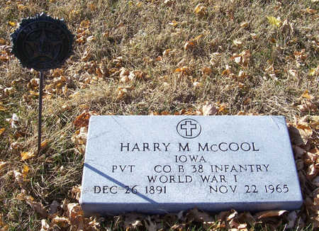 MCCOOL, HARRY M. (MILITARY) - Shelby County, Iowa | HARRY M. (MILITARY) MCCOOL
