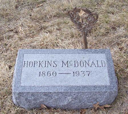 MCDONALD, HOPKINS - Shelby County, Iowa | HOPKINS MCDONALD