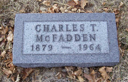 MCFADDEN, CHARLES T. - Shelby County, Iowa | CHARLES T. MCFADDEN