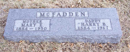 MCFADDEN, HARRY B. (DADDY) - Shelby County, Iowa | HARRY B. (DADDY) MCFADDEN