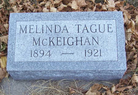 TAGUE MCKEIGHAN, MELINDA - Shelby County, Iowa | MELINDA TAGUE MCKEIGHAN