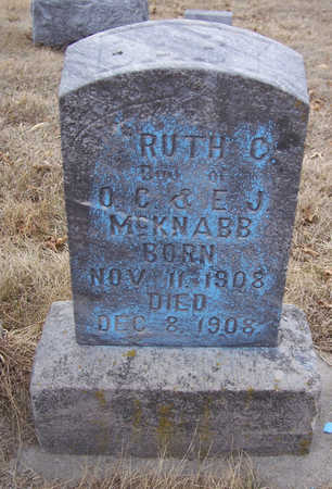 MCKNABB, RUTH C. (BABY) - Shelby County, Iowa | RUTH C. (BABY) MCKNABB