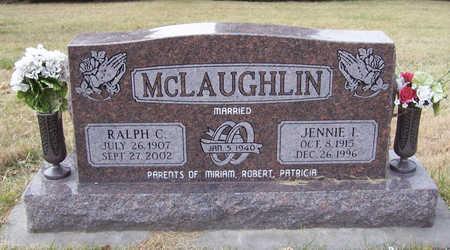 MCLAUGHLIN, JENNIE I. - Shelby County, Iowa | JENNIE I. MCLAUGHLIN