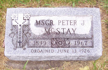 MCSTAY, MSGR. PETER J. - Shelby County, Iowa | MSGR. PETER J. MCSTAY