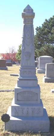 MEANS, OTHO & CATHARINE H. - Shelby County, Iowa   OTHO & CATHARINE H. MEANS