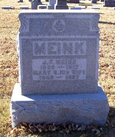 MEINK, MARY S. - Shelby County, Iowa | MARY S. MEINK