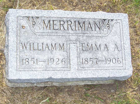 MERRIMAN, WILLIAM M. - Shelby County, Iowa | WILLIAM M. MERRIMAN