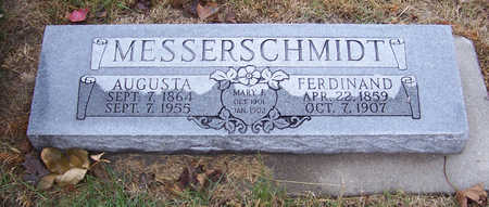 MESSERSCHMIDT, MARY F. - Shelby County, Iowa | MARY F. MESSERSCHMIDT