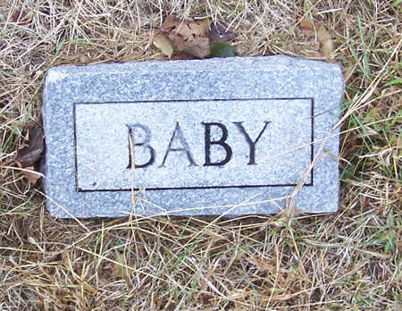 MESSERSCHMIDT, MARY F. (BABY) - Shelby County, Iowa | MARY F. (BABY) MESSERSCHMIDT