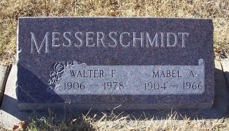 MESSERSCHMIDT, WALTER F. - Shelby County, Iowa | WALTER F. MESSERSCHMIDT