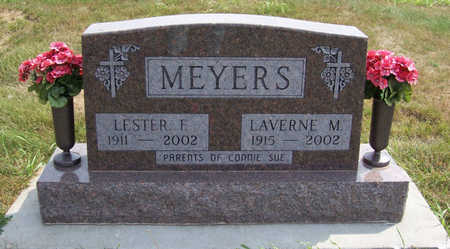 MEYERS, LESTER F. - Shelby County, Iowa | LESTER F. MEYERS