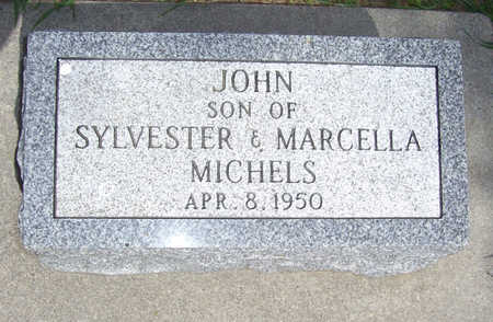 MICHELS, JOHN - Shelby County, Iowa | JOHN MICHELS