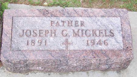MICKELS, JOSEPH G. - Shelby County, Iowa | JOSEPH G. MICKELS