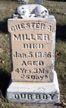 MILLER, CHESTER A. - Shelby County, Iowa | CHESTER A. MILLER
