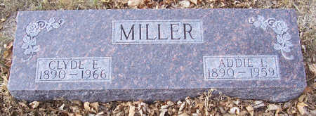 MILLER, ADDIE I. - Shelby County, Iowa | ADDIE I. MILLER