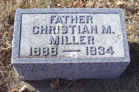 MILLER, CHRISTIAN M. (FATHER) - Shelby County, Iowa | CHRISTIAN M. (FATHER) MILLER