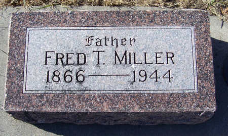 MILLER, FRED T. (FATHER) - Shelby County, Iowa | FRED T. (FATHER) MILLER